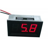 LED Voltage Meter (Red)